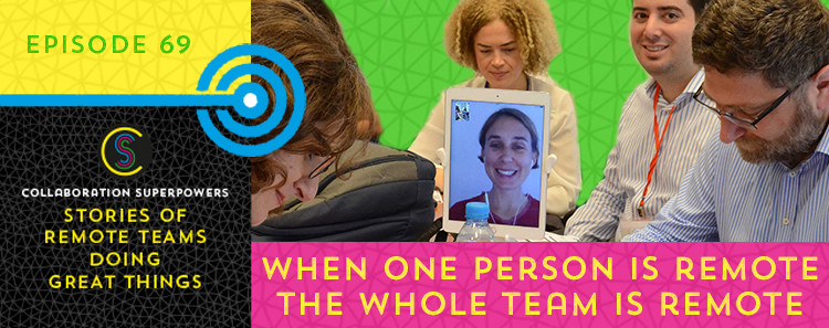 69---When-one-person-is-remote