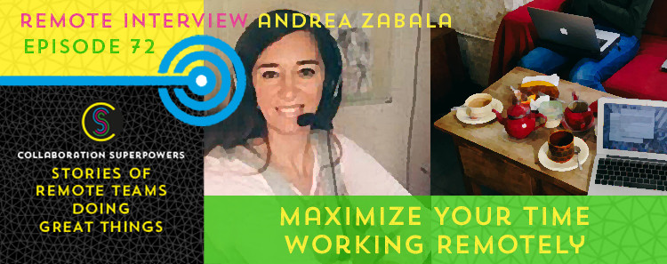 72 - Andrea Zabala on the Collaboration Superpowers podcast