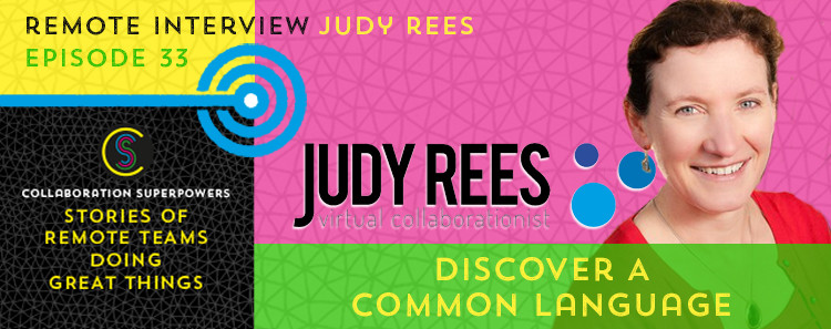 33 - Judy Rees on the Collaboration Superpowers podcast