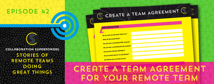 Create a team agreement