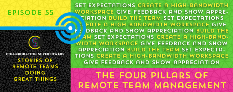 55-The-Four-Pillars-of-Remote-Team-Management