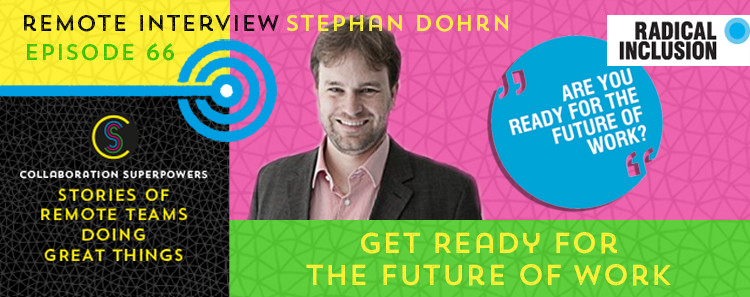 66 - Stephan Dohrn on the Collaboration Superpowers podcast