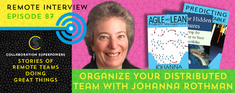 Johanna Rothman on the Collaboration Superpowers podcast