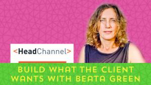Beata Green HeadChannel