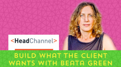 Beata Green HeadChannel