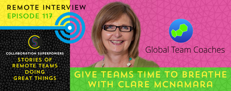 Clare McNamara on the Collaboration Superpowers podcast