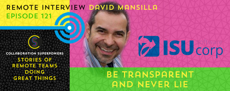 121 - David Mansilla on the Collaboration Superpowers podcast