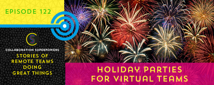 Holiday parties for virtual teams