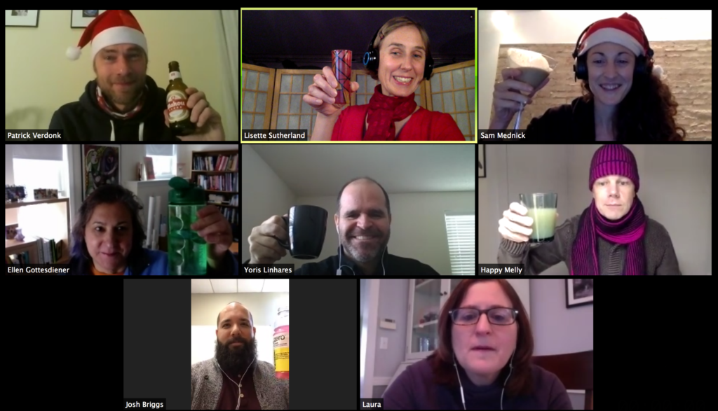 Happy Melly 2016 virtual holiday party