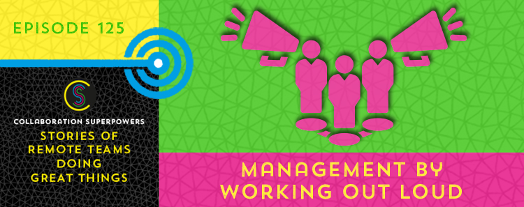 Management By Working Out Loud