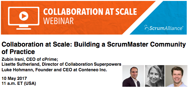 10 May 2017 - collab at scale webinar