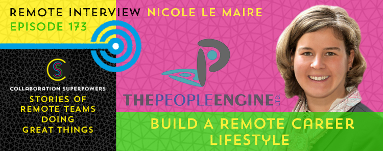 173 - Nicole Le Maire on the Collaboration Superpowers podcast